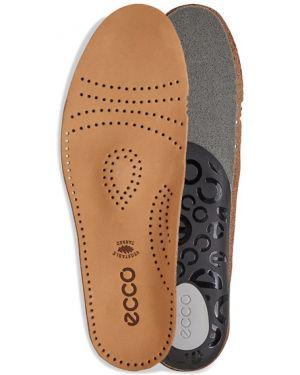 Коричневые повседневные кожаные стельки Ecco