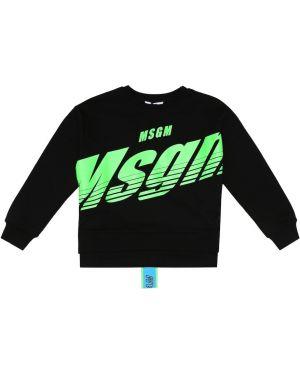 Bluza z kapturem Msgm Kids