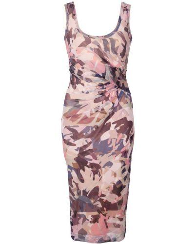 Приталенное платье с рисунком Fuzzi