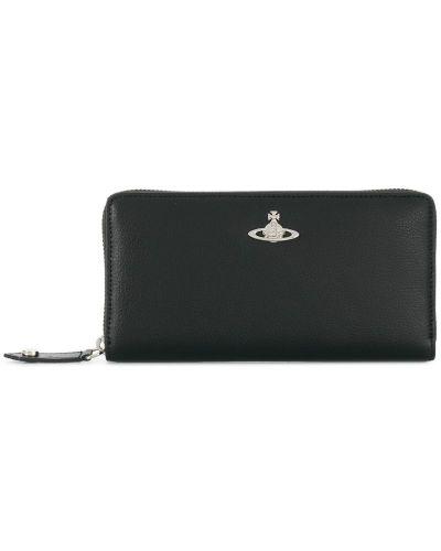 Кожаный кошелек на молнии Vivienne Westwood