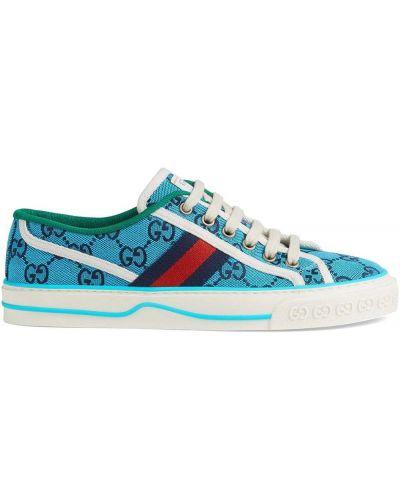 Top - niebieskie Gucci