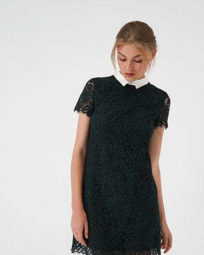 Платье осеннее зеленый Lime