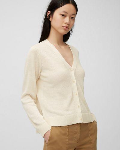 Biały sweter na lato Marc O Polo