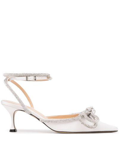 Белые кожаные туфли Mach & Mach