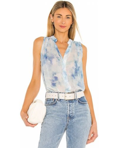 Блузка без рукавов - синяя Bella Dahl