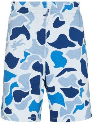 Синие шорты с накладными карманами Billionaire Boys Club