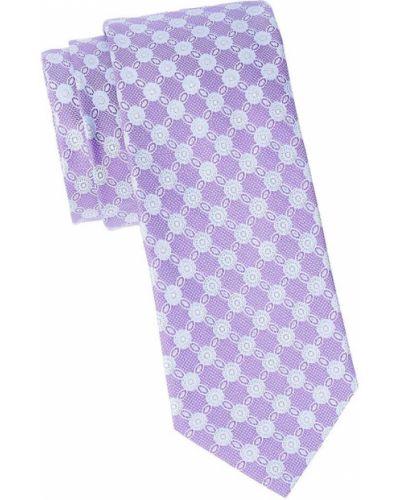 Фиолетовый шелковый медальон Eton