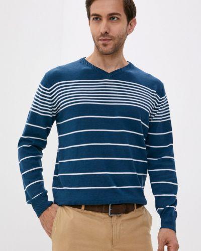 Бирюзовый пуловер Blue Seven