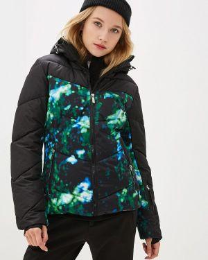 Горнолыжная куртка осенняя черная Icepeak
