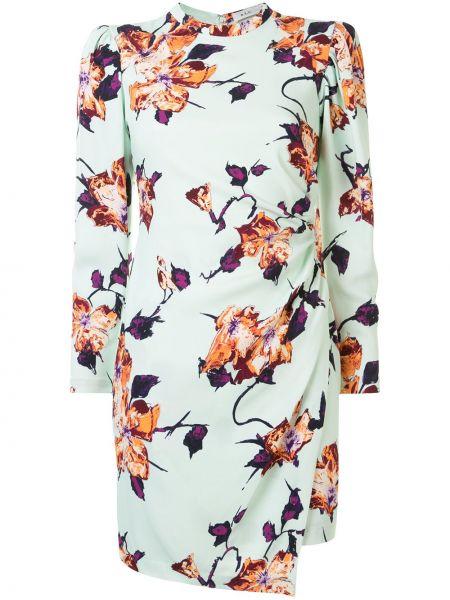 Платье мини макси с цветочным принтом Alc