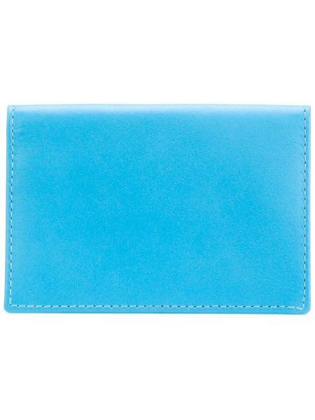 Portfel skórzany klasyczny niebieski Comme Des Garçons Wallet