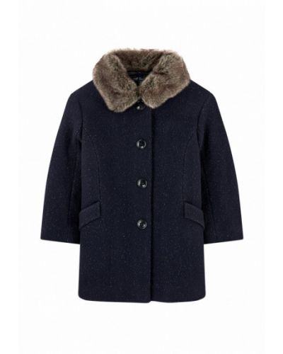 Пальто синее Lili Gaufrette