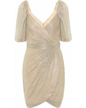 Платье мини с завышенной талией большой Jonathan Simkhai