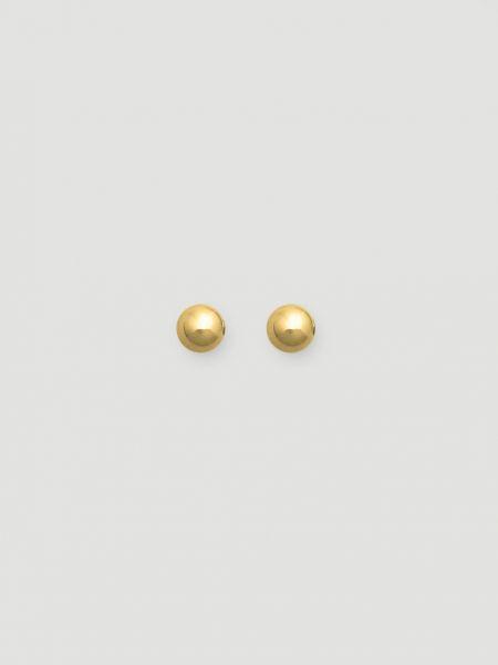 Золотые серьги серьги-гвоздики 12storeez