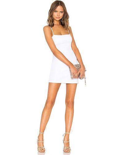 Трикотажное платье мини - белое Susana Monaco