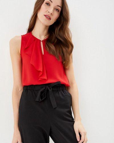 Блузка без рукавов весенний красная Modis