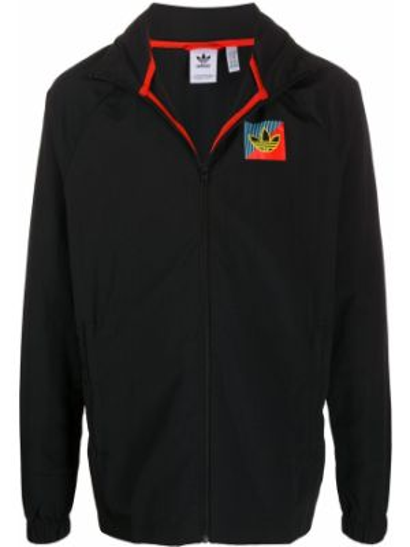 Длинная куртка черная легкая Adidas
