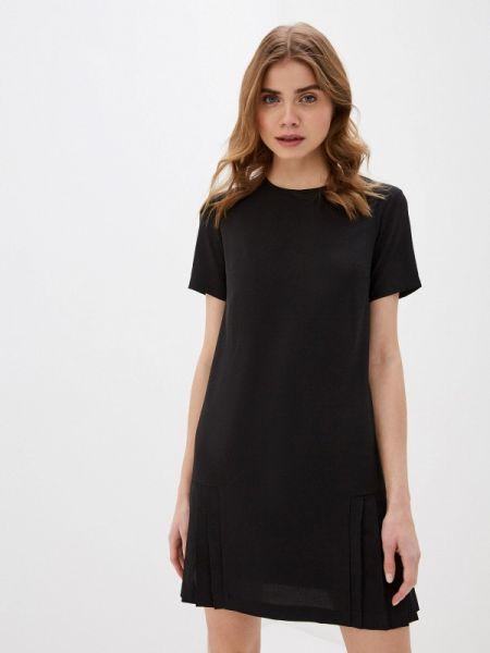 Платье прямое черное Zarina