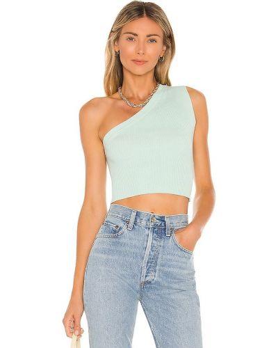 Niebieska koszulka prążkowana Camila Coelho