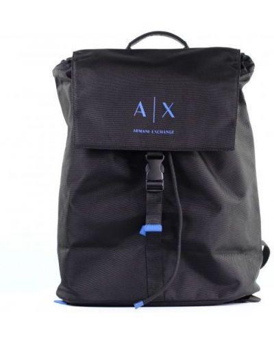 Рюкзак повседневный черный Armani Exchange