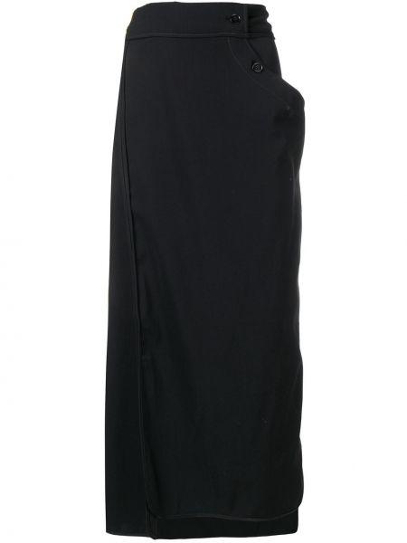 Spódnica maxi ołówkowa z paskiem Lemaire
