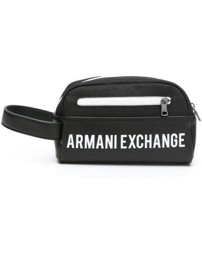 Czarna torebka Armani Exchange