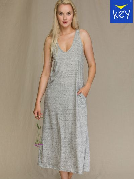 Платье - серое Key