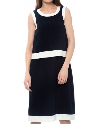 Платье из полиэстера - синее Armani Jeans