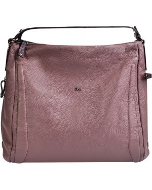 Кожаная сумка - розовая Bruno Rossi