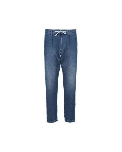 Прямые джинсы синий демисезонный Eleventy