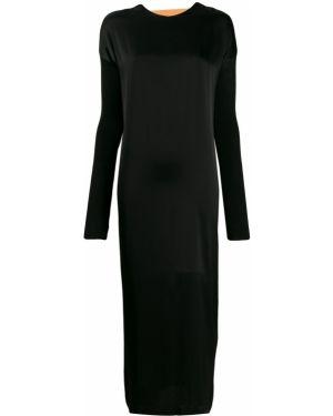 Платье макси длинное - черное Marios