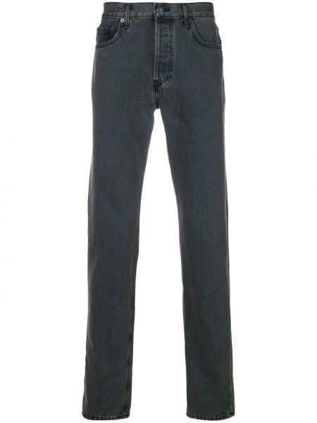 Jeansy bawełniane perły Yeezy