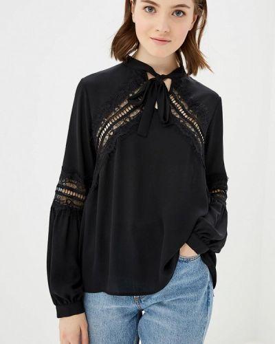 Блузка с длинным рукавом черная Imperial