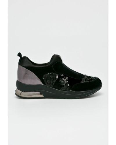 Кожаные кроссовки текстильные Liu Jo