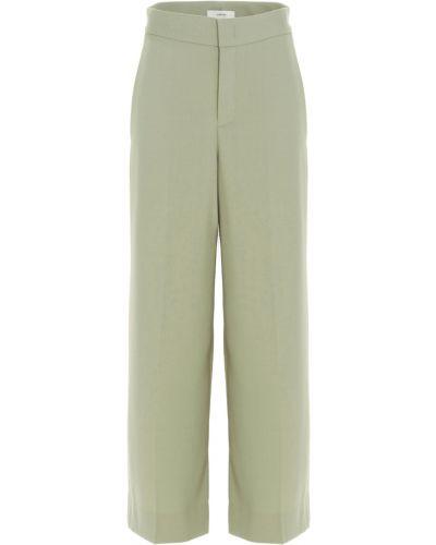 Zielone spodnie Vince