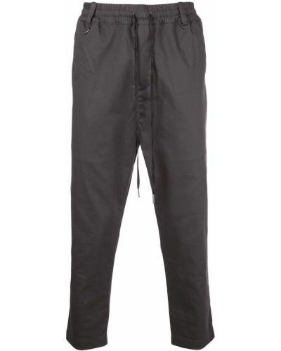 Прямые прямые брюки с поясом пэчворк новогодние The Celect