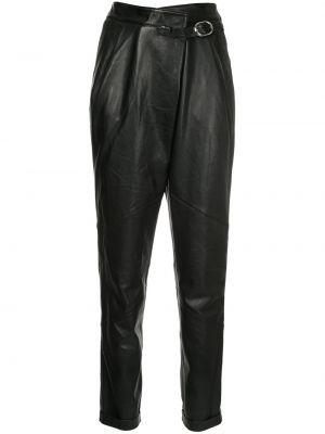 Кожаные черные брюки Michel Klein