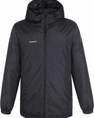 Черная теплая куртка на молнии Demix