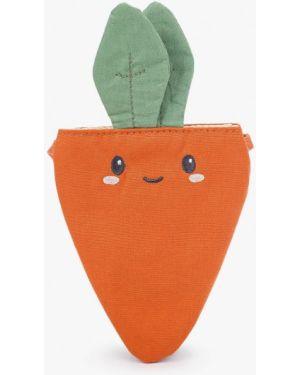 Оранжевая текстильная сумка Mango Kids