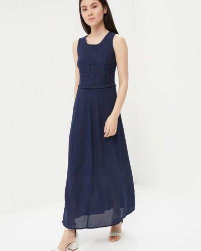 Синее платье Savage