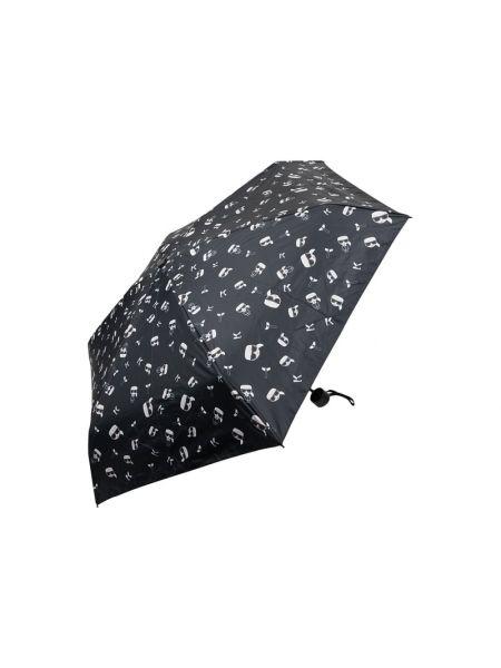 Parasol - czarny Karl Lagerfeld