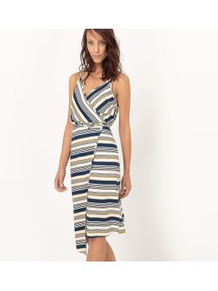 Платье миди мини с запахом La Redoute Collections