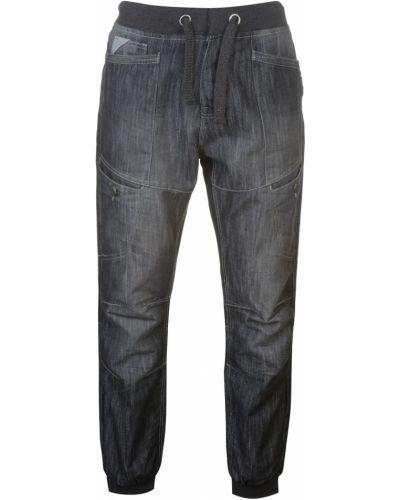 Czarne jeansy bawełniane No Fear