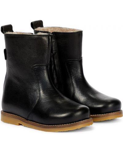 Черные резиновые ботинки Petit Nord