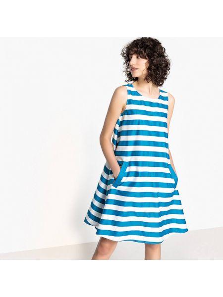 Платье мини в полоску макси La Redoute Collections