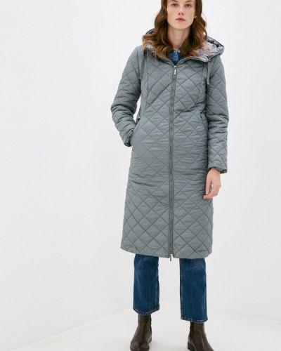Бирюзовая утепленная куртка Dizzyway