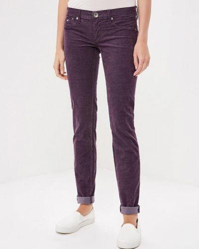 Фиолетовые зауженные брюки Gas