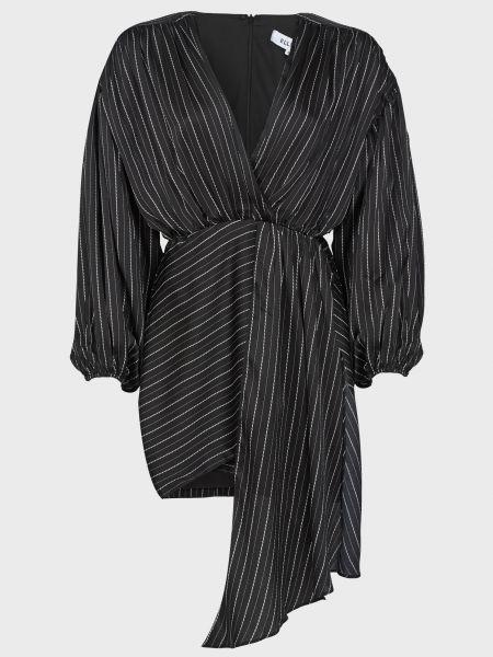 Платье на молнии - черное Elliatt