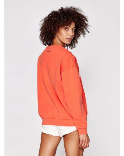 Pomarańczowa bluza Desigual