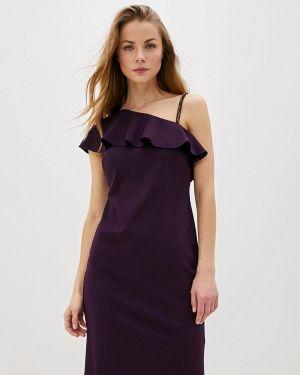 Вечернее платье осеннее фиолетовый Lauren Ralph Lauren